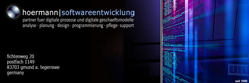 hoermann softwareentwicklung, it-service, netzwerke, systemadministration, datenschutz, datensicherheit, gmund bei münchen